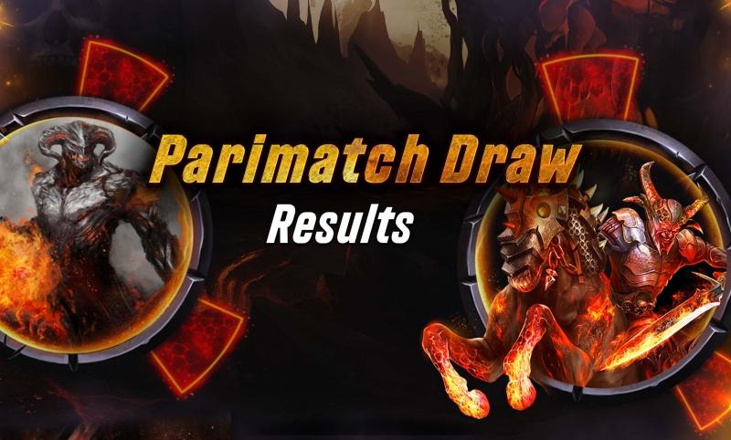 4Horsemen-Parimatch Draw Winners