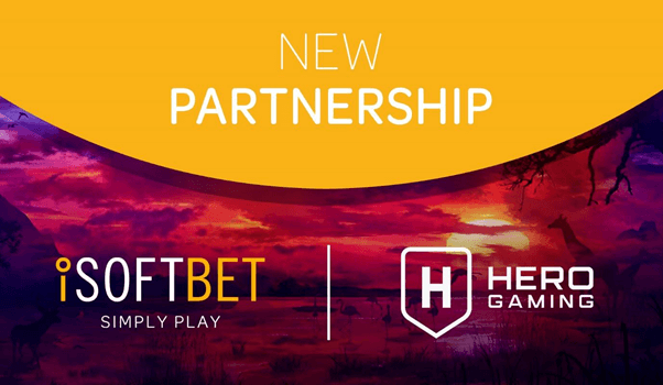 iSoftBet agrees expansive content deal with Hero Gaming