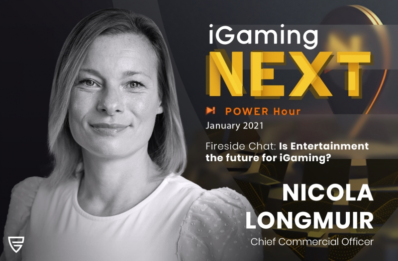 Nicola Longmuir, CCO of Push Gaming, on iGaming Next's POWER Hour