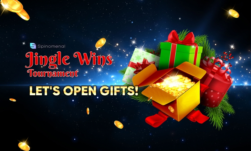 Time to Open Jingle Wins Gifts!