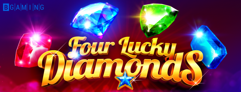 Gather the Four Lucky Diamonds for brilliant winnings!