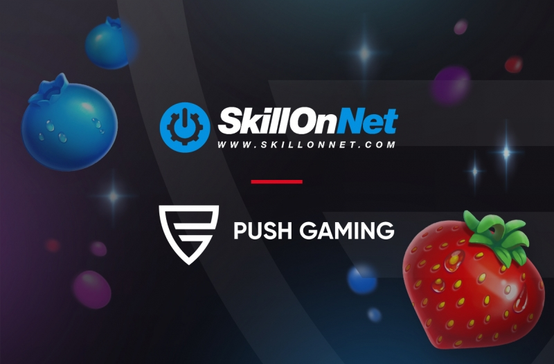 Push Gaming and SkillOnNet join forces