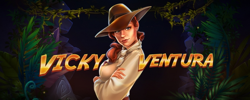 Red Tiger On The Quest For Treasure With Vicky Ventura