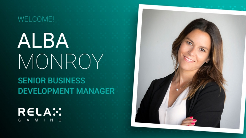 Relax Gaming announces new Senior Business Development Manager, Alba Monroy