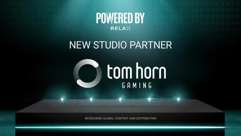 Relax Gaming partners with Tom Horn Gaming in Powered By Relax deal