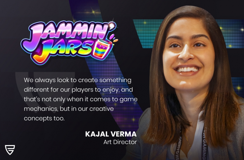 Interview: Art Director, Kajal Verma, speaks about the creative process behind our top hit, Jammin' Jars