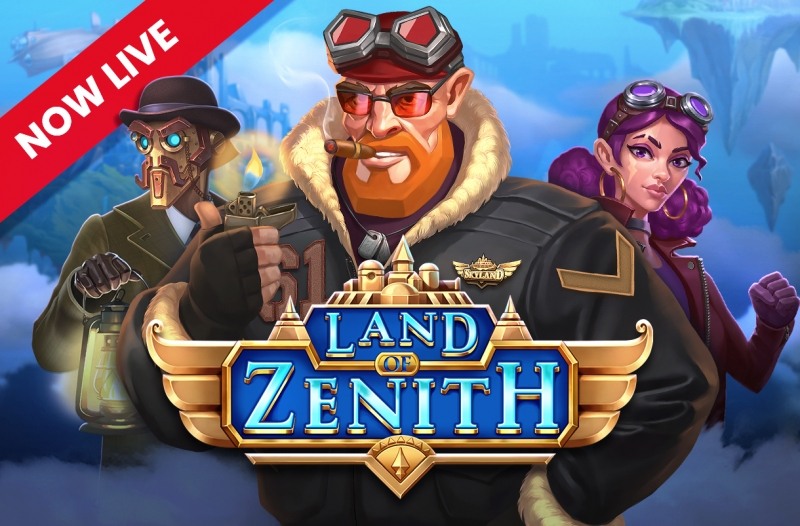 Land of Zenith hits the heights for Push Gaming