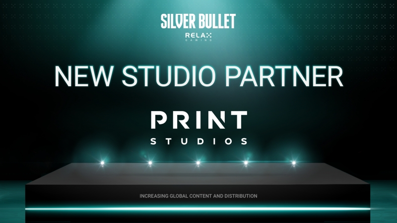 Relax Gaming welcomes Print Studios as latest Silver Bullet partner