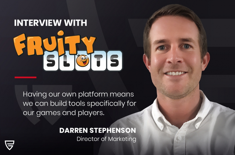 Interview: Director of Marketing, Darren Stephenson, speaks to Fruity Slots on the latest developments at Push Gaming