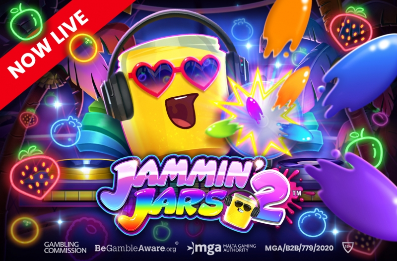 Push Gaming heads back onto the dance floor with Jammin' Jars 2