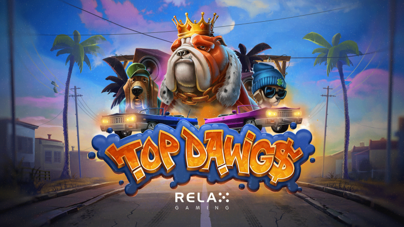 Relax Gaming's Top Dawg$ Slot Supports 'Adopt a Shelter Pet Day'