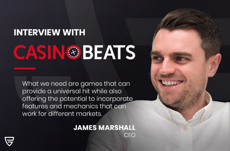 Interview: CEO James Marshall speaks with CasinoBeats on game design