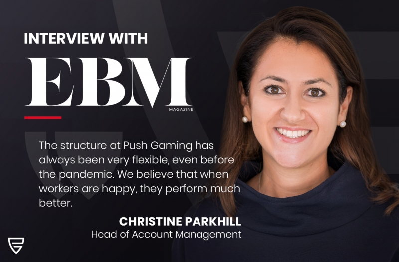 Interview: Head of Account Management, Christine Parkhill, speaks with EBM Magazine on the importance of flexibility in the workplace