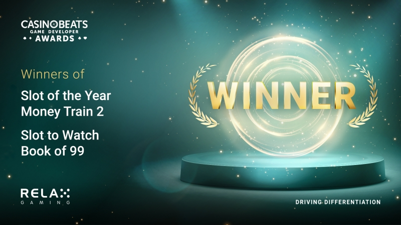 Relax Gaming celebrates CasinoBeats awards win