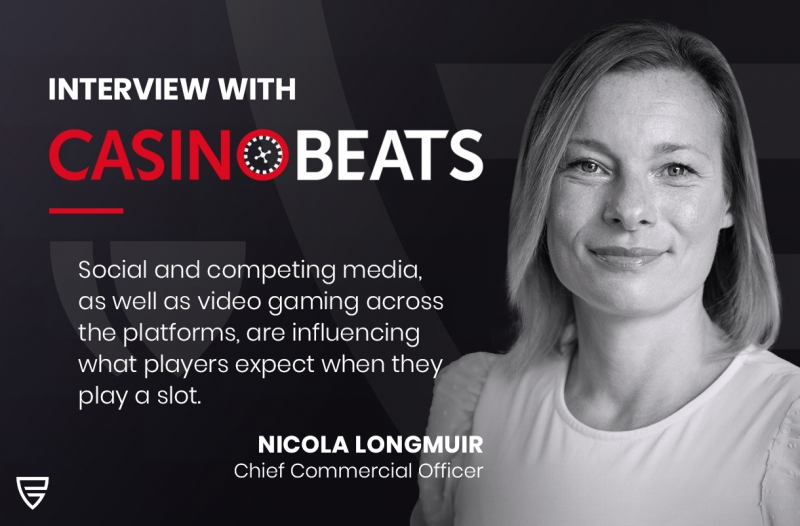 Interview: CCO Nicola Longmuir speaks with CasinoBeats on different player preferences and future games