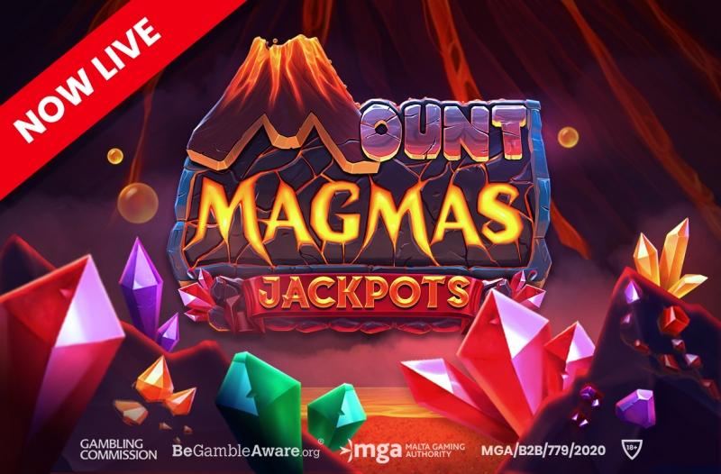 Push Gaming's Mount Magmas Jackpots enjoys global release