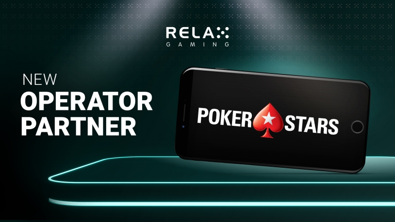 Relax Gaming celebrates landmark deal with PokerStars