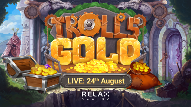 Relax Gaming launches glistening release Troll's Gold