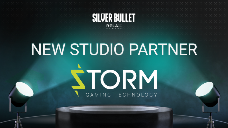Relax Gaming signs Storm Gaming as latest Silver Bullet partner