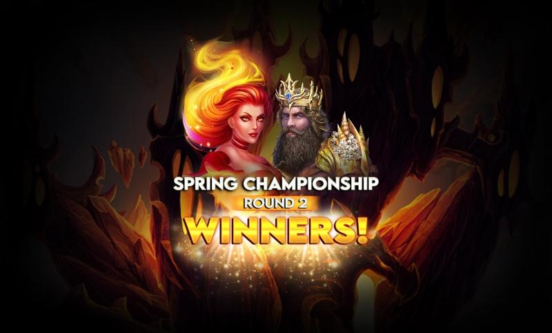 Spring Championship- Round's 2 Big Winners!