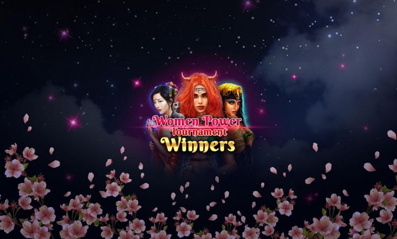 Women Power Tournament – The Big Winners!